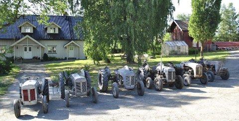Gråtasser klare til å vise seg fram på Åpen gård i Trøgstad.