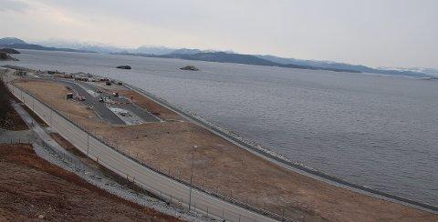 Strand kommune tror dette området vil bli et populært turområde. Slik ser det ut nå.