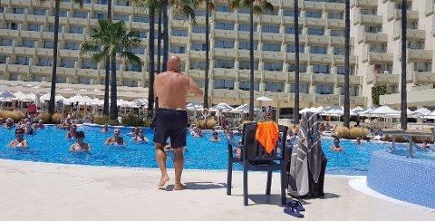 All inclusive-hotellene på Mallorca får fra neste sommer bare lov til å servere gratis alkohol til maten. Foto: Svein Tofteng, ANB