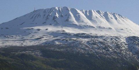 FJELLFYLKET: Gausta står for mange som symbolet på Telemark.