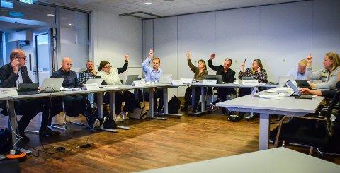 ÅPNER RUSTADPORTEN: Flertallet i formannskapet stemte for å åpne for utbygging av boliger på Rustadporten.