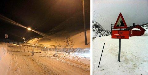 Ønsker å skredsikre: Veien ned til Kamøyvær er rasfarlig, det samme er veien opp til Holmbukt og fjellet som er i sentrum av Honningsvåg. Dette ønsker Nordkapp kommune å gjøre noe med.