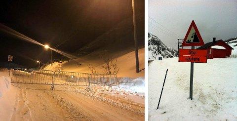 Rasutsatt: Holmbukt og Kuvika i Kamøyvær er stadig utsatt for skred og skredfare.