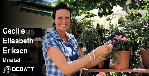 Ga seg mens leken var god: BlomsterLise (Lise Merete Augensen) er en av dem som har avviklet sin blomsterforretning det siste året. – Mange blomsterhandlere kjemper for å overleve, og det er veldig trist at flere og flere ser seg nødt til å kaste inn håndkleet, skrev hun da beslutningen var tatt. Arkivfoto: Geir Løvli