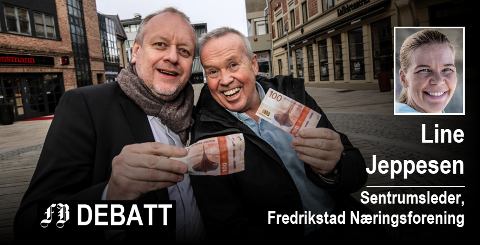 Rune Solberg og Petter Eriksen gikk i bresjen for restaurantenes offensiv med å servere middagsretter for 100 kroner. Foto: Svein Kristiansen