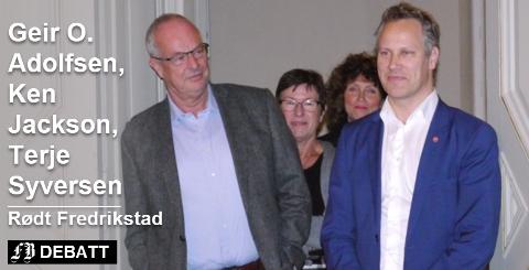 Rødt Fredrikstad mener bystyrerepresentant Terje Moland Pedersen og ordfører Jon-Ivar Nygård er hårsåre og at de går for langt ved å gjengi Henning Aall  som at han beskyldte kommuneadministrasjonen for noe «nærmest kriminelt».  Arkivfoto: Øivind Lågbu