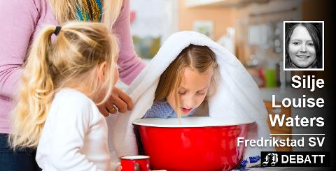 Silje Louise Waters forteller om «en sånn fredag» med syke barn i sin argumentasjon for økt bemanning i barnehagene. Illustrasjonsfoto: Colourbox
