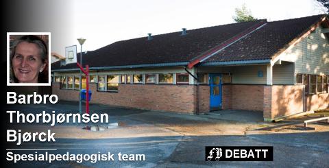 Spesialpedagogisk team mener Hvaler må samle sin skolekompetanse på ett sted. Da skal det bygges en ny barneskole ved ungdomsskolen på Asmaløy. Foto: Trond Thorvaldsen