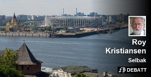 Tradisjonsrike Luzhniki Stadion i Moskva, bygget til sommer-OL i 1952, har blitt utvidet og kraftig renovert til fotball-VM. Prisen skal være tre milliarder kroner, og dermed en beskjeden andel av den totale VM-kostnaden som Roy Kristiansen oppgir til 112 milliarder kroner. Foto: Colourbox.