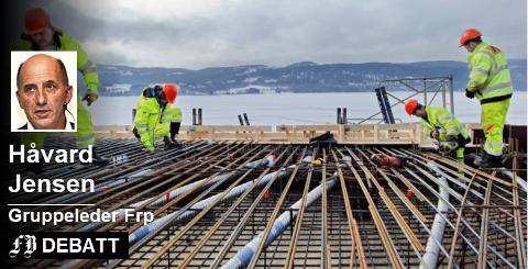 Vanskelige grunnforhold. – Det er ikke regjeringen som har varslet om store utfordringer med å bygge jernbane i Østfold, det er fagfolkene i systemet. Foto: Hilde Lillejord, Bane Nor
