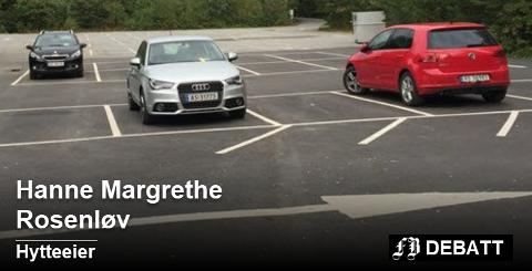 – Hvorfor er det nødvendig å bruke de samme parkeringsbestemmelsene utenfor sesongen da plassen er så godt som tom, er spørsmålet Hanne Margrethe Rosenløv vil ha svar på fra Fredrikstad kommune.