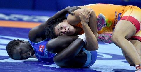 MÅ VENTE: ETter tapet onsdag morgen må Grace Bullen venmte på om hun kan rekvalifisere seg i VM.