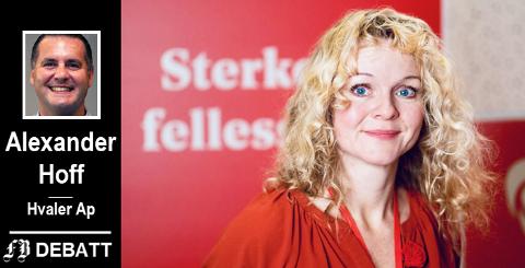 Mona Vauger utropes i innlegget til Hvaler kommunes redningskvinne.