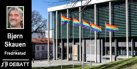 Er det lov å heise et hvilket som helst flagg fra kommunale bygninger? Bryter kommunen loven?