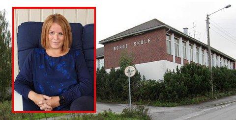 Borge skole gir hjemmeundervisning til to trinn denne uken. – Vi har mange ansatte som må være hjemme nå, forteller Solveig Ringsell Martinsen, rektor på Borge barneskole.