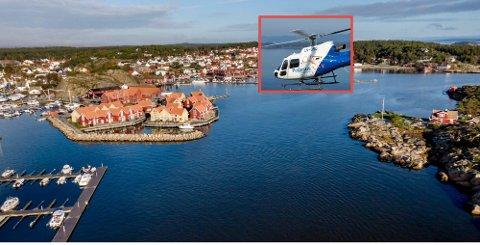 Tirsdag vil du kunne se og høre helikopter i Skjærhalden-området.