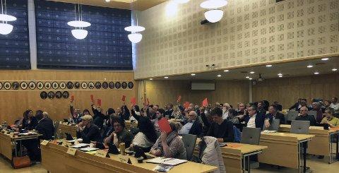 BUDSJETT: Kommunestyret vedtar neste års budsjett i dag.