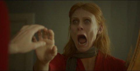 MØRKE SIDER: Cecilie Jørstad fikk utfordret sine mørke sider i rollen som moren til hovedrollefiguren Cathrine.