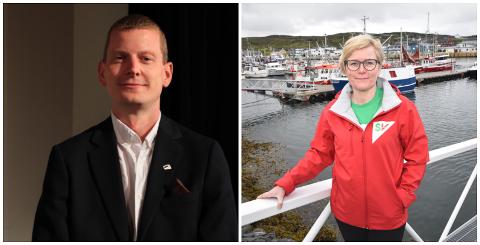 MAKTMISBRUK: Med bakgrunn i påstått maktmisbruk fra Ap og mistillit fra ansatte, nektet Høyre og SV å stille med kandidater til havnestyret. Her representert ved varaordfører Svein Johan Kalvik (H) og SV-leder Anne A. Johnsen.