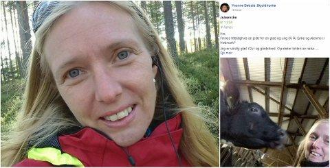 PÅ JOBBJAKT: Yvonne Debald Skjoldhorne (35) fra Flisa ønsker seg en jobb til jul.