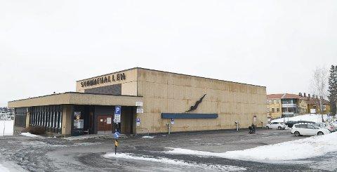 SVØMMEHALLEN: Åpner for svømmegruppa 1. juni.