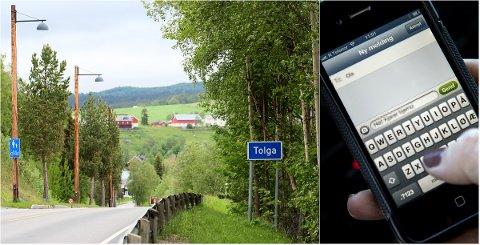 KODEDE MELDINGER: Hjelpeapparatet rundt den ene Tolga-broren brukte kodede meldinger for å komme i kontakt med han.
