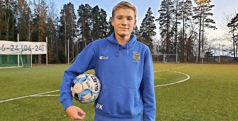 Goalgetter: Even Kolstad finner målet fortere enn de fleste andre. Foto: Arne Johan Furseth
