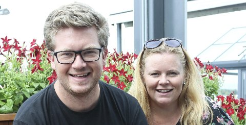 Klar for ny runde: Ruben Kvålseth og Lena Barth Aarstad er tilbake på Kafé K.