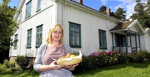 Andre boller: Avdelingsleder Anniken Hesselberg ved Lørenskog bygdemuseum vil profilere stedet på bærekraftige verdier og har som mål å skape et grønt møtested. Alle foto: Torstein Davidsen