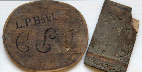 SKRIN: Restene av et skrin, trolig fra 1800-tallet.