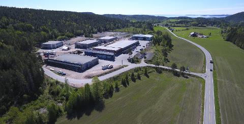 BEDRE DEKNING: Holmsbu næringspark har fått med seg Telenor på lag, og nå er det etablert en ny basestasjon med bedre mobildekning i denne delen av Hurum.