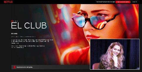 SOUNDTRACK: En av låtene til Ida Stein (27, innfelt bilde) er med som soundtrack i Netflix-serien «El club».