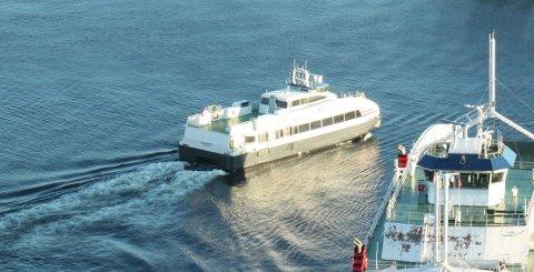 Strand kommune vil gjerne gjøre det billigere å reise med lokale ferjer og hurtigbåter. (Arkivfoto)