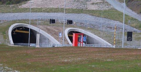 SNUDDE: Bilen skal ha kjørt inn i Ryfylketunnelen fra Solbakk-siden på vanlig vis og deretter snudd i tunnelen.