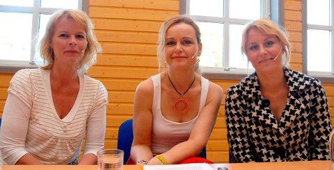RELIGIONS-DEBATT: Kaja Melsom - her sammen med Gry Friis Eriksen og Inga Bolstad - trekker seg.