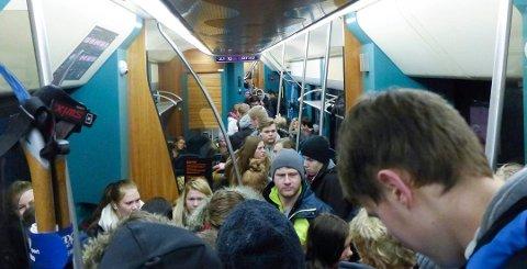 Norske tog vil ha færre seter i de nye togsettene sine.