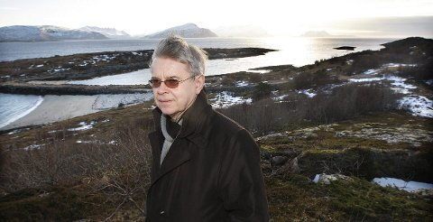 Nådde fram: Ole H. Hjartøy er sikker på at den vedtatte utredningen resulterer i at den nye flyplassen legges her. – Det har vært mye motbakker.  Foto: Tom Melby