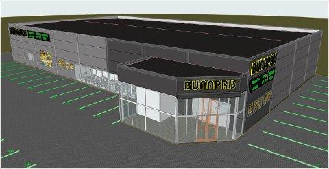 Byggestart: Om få uker blir arbeidene med å bygge ny dagligvarebutikk igangsatt. Den skal stå ferdig tidlig i 2022.