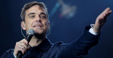 Robbie Williams kommer til Bergen.