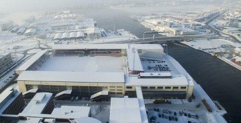 Hockeyfest: Det er her på Fredrikstad Stadion at Winter Classic vil finne sted neste år.  foto: Erik Hagen