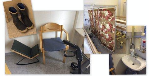 – IKKE BRA NOK: Dette er bilder fra kronikken hvor forfatter Linde Gilberg mener tilbudet til beboere på sykehjemmet i Fredrikstad ikke er godt nok. Nå tar politikerne i helse-og velferdsutvalget affære etter å ha sett nærmere på stedet med egne øyne.