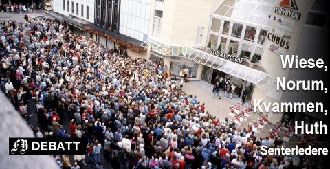 Det var en stor begivenhet da Torvbyen ble åpnet i 1988.  Flere tusen mennesker sto i kø for å se og handle.