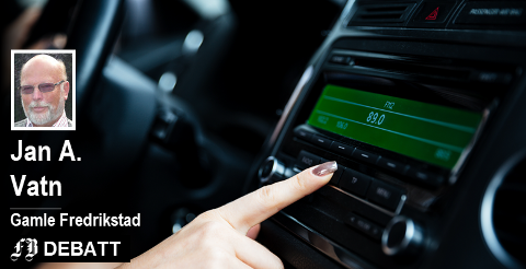 – Danmark har et fullt utbygd DAB+-nett, men våger ikke slukke FM fordi antall biler uten DAB+-radioer er så stort at de frykter at lytterne vil svikte radioen dersom FM-sendingene blir borte, forteller Jan A. Vatn.