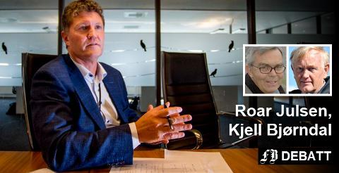 Et av spørsmålene til styreleder Moland Pedersen gjelder administrerende direktør Trond Andersen (bildet) og hvilket sluttvederlag han bør få.