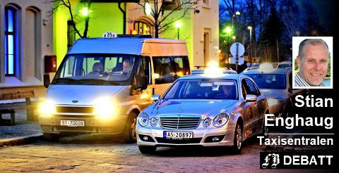 – Dersom frislippet av antall drosjer kommer, vil næringen sitte igjen med svært få som greier å leve av yrket, skriver Taxisentralens markedssjef.