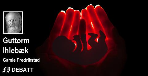 –  Jeg har til gode å se overbevisende argumenter for at embryoet er en del av kvinnekroppen på linje med kvinnens mage, nyrer og lever, skriver Ihlebæk.