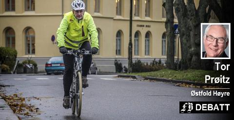 Tor Prøitz svarer Jan Henrik Lund (bildet) og mener Lund er for opptatt av sykkel. – Skal vi innfri nullutslippskravet, må det skje gjennom en fordeling mellom gange, sykkel og kollektivtransport.