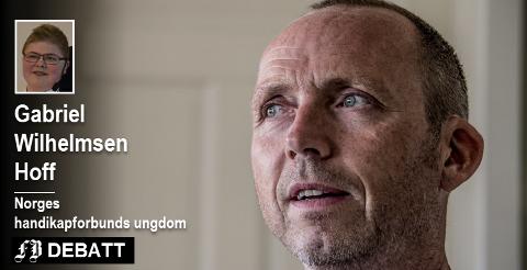 Saken til Geir Rugsveen Engen engasjerer langt ut over Fredrikstads grenser. Gabriel Wilhelmsen Hoff er fra Drøbak og engasjert i handicapforbundets ungdom.