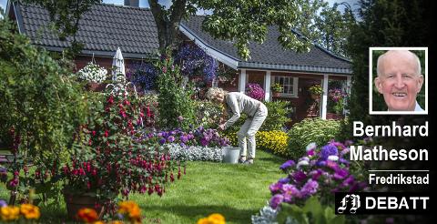 Hageentusiast Anne Marie Urskogen i Økobygda på Selbak uttalte seg helt i tråd med Bernhard Mathesons poeng i en FB-reportasje i august i fjor: – Jeg tror hagearbeid er bedre enn medisiner.