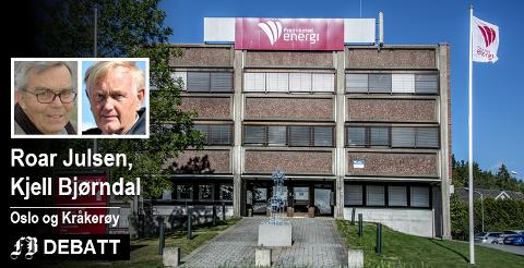 Julsen og Bjørndal om Fredrikstad Energi: – En bedrift eiet av en kommune med sosialdemokratisk ledelse! Det er som kjent ikke forskjell på folk, men noen er likere enn andre.
